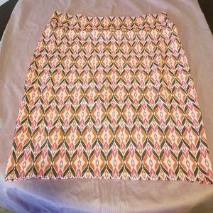 LuLaRoe skirt size 3X